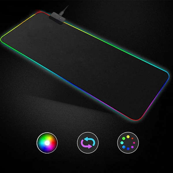 Коврик Rasure Flashy RGB Gaming Mouse Pad c подсветкой