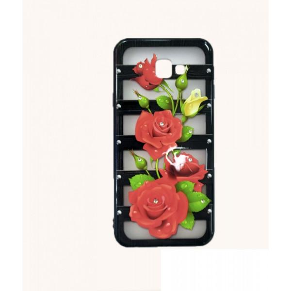 Нежный женский чехол с цветами