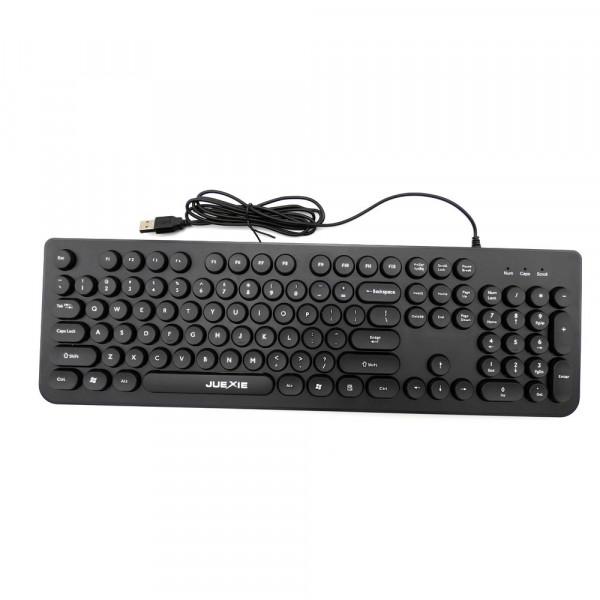 Проводная клавиатура и мышь JK209