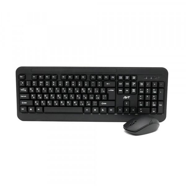 Беспроводная клавиатура и мышь AVTECH KW400