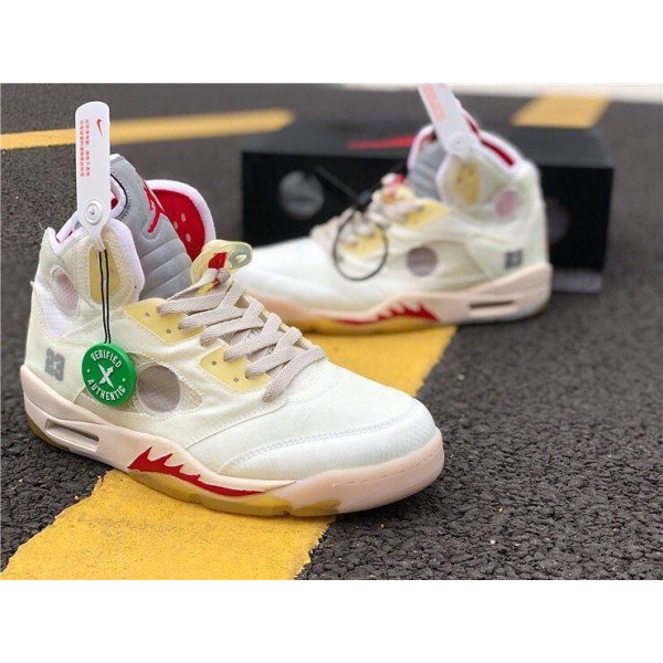 NIKE Air Jordan 5 x OFF White